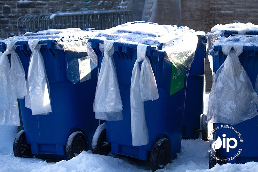 Cómo reciclar tus bolsas de plástico